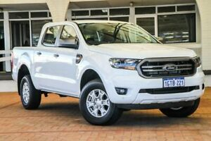 2019 Ford Ranger PX MkIII 2019.00MY XLS Pick-up Double Cab White 6 Speed Sports Automatic Utility Melville Melville Area Preview