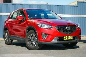 2014 Mazda CX-5 KE1031 MY14 Maxx SKYACTIV-Drive AWD Sport Red 6 Speed Sports Automatic Wagon Tweed Heads Tweed Heads Area Preview