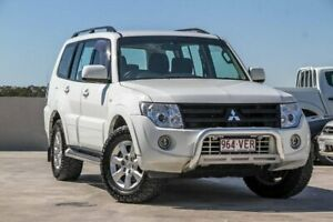 2014 Mitsubishi Pajero NW MY14 GLX-R White 5 Speed Sports Automatic Wagon Aspley Brisbane North East Preview