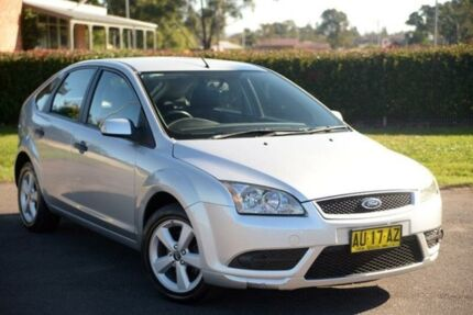 2007 Ford Focus LS CL Silver 5 Speed Manual Hatchback Riverstone Blacktown Area Preview