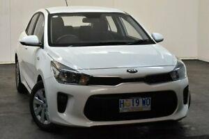 2018 Kia Rio YB MY18 S White 4 Speed Sports Automatic Hatchback North Hobart Hobart City Preview