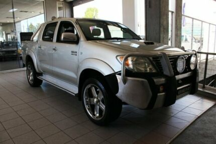 2006 Toyota Hilux KUN26R SR5 (4x4) Silver 4 Speed Automatic Dual Cab Pick-up