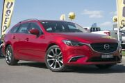 2016 Mazda 6 GJ1032 GT SKYACTIV-Drive Red 6 Speed Sports Automatic Wagon Pearce Woden Valley Preview