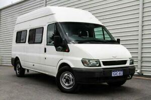 2005 Ford Transit VJ Mid Roof White 5 Speed Manual Bus