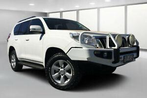 2014 Toyota Landcruiser Prado KDJ150R MY14 GXL (4x4) Glacier White 5 Speed Sequential Auto Wagon Dalby Dalby Area Preview