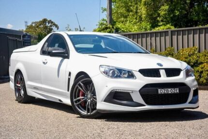2016 Holden Special Vehicles Maloo GEN-F2 MY16 R8 LSA White 6 Speed Sports Automatic Utility Greenacre Bankstown Area Preview
