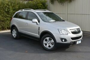 2011 Holden Captiva CG Series II 5 Nitrate 6 Speed Sports Automatic Wagon Devonport Devonport Area Preview