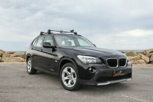 2010 BMW X1 E84 MY11 xDrive20d Steptronic Black 6 Speed Sports Automatic Wagon Lonsdale Morphett Vale Area Preview