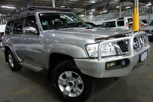 2013 Nissan Patrol Y61 GU 8 ST Silver 5 Speed Manual Wagon Port Melbourne Port Phillip Preview