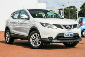 2017 Nissan Qashqai J11 ST White 1 Speed Constant Variable Wagon Rockingham Rockingham Area Preview