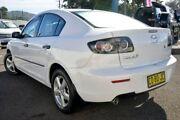 2008 Mazda 3 BK10F2 MY08 Neo Sport White 4 Speed Sports Automatic Sedan Gosford Gosford Area Preview
