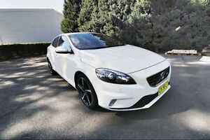 2013 Volvo V40 M Series MY13 T5 Adap Geartronic R-Design White 6 Speed Sports Automatic Hatchback Haymarket Inner Sydney Preview