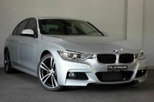 2015 BMW 3 Series F30 LCI 320i M Sport Silver 8 Speed Sports Automatic Sedan Bayswater Bayswater Area Preview