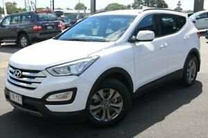 2013 Hyundai Santa Fe DM MY14 Active White 6 Speed Sports Automatic Wagon Earlville Cairns City Preview