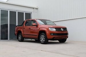 2016 Volkswagen Amarok 2H TDI420 Copper Orange 8 Speed Automatic Utility Rutherford Maitland Area Preview