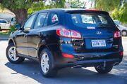 2010 Hyundai Santa Fe CM MY10 SLX CRDi (4x4) Black 6 Speed Automatic Wagon Glendalough Stirling Area Preview