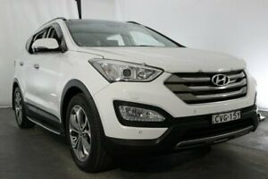 2014 Hyundai Santa Fe DM MY14 Highlander White 6 Speed Sports Automatic Wagon Maryville Newcastle Area Preview