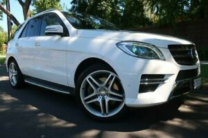 2014 Mercedes-Benz M-Class W166 ML400 7G-Tronic + White 7 Speed Sports Automatic Wagon Prospect Prospect Area Preview