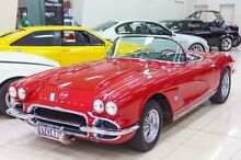 1962 Chevrolet Corvette  Red 4 Speed Manual Roadster Carss Park Kogarah Area Preview