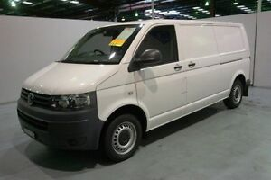 2013 Volkswagen Transporter T5 MY13 TDI340 LWB DSG White 7 Speed Sports Automatic Dual Clutch Van Old Guildford Fairfield Area Preview