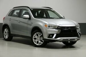 2018 Mitsubishi ASX XC MY19 ES ADAS ( 2WD) Sterling Silver Continuous Variable Wagon Bentley Canning Area Preview