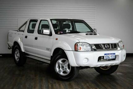2014 Nissan Navara D22 S5 ST-R White 5 Speed Manual Utility Victoria Park Victoria Park Area Preview
