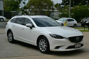 2017 Mazda 6 6C MY17 (gl) Touring White 6 Speed Automatic Wagon Beaudesert Ipswich South Preview