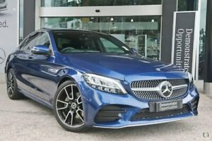 2019 Mercedes-Benz C-Class W205 800MY C200 9G-Tronic Blue 9 Speed Sports Automatic Sedan Melbourne Airport Hume Area Preview