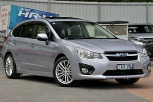 2014 Subaru Impreza G4 MY14 2.0i-S Lineartronic AWD Silver 6 Speed Constant Variable Hatchback Ferntree Gully Knox Area Preview