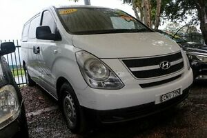 2011 Hyundai iLOAD TQ-V MY11 White 5 Speed Sports Automatic Van Minchinbury Blacktown Area Preview