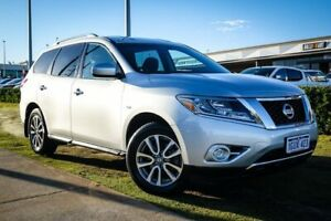 2014 Nissan Pathfinder R52 MY14 ST X-tronic 2WD Silver 1 Speed Constant Variable Wagon Wangara Wanneroo Area Preview