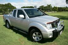 2010 Nissan Navara D40 ST-X King Cab Silver 6 Speed Manual Utility Townsville Townsville City Preview