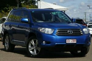 2007 Toyota Kluger GSU40R KX-S 2WD Blue Metallic 5 Speed Sports Automatic Wagon Moorooka Brisbane South West Preview