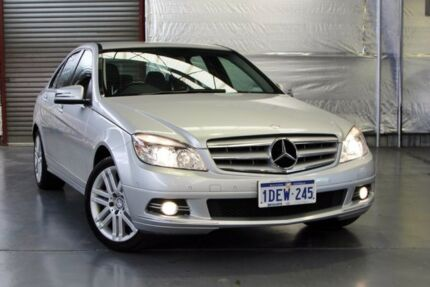 2009 Mercedes-Benz C200 Kompressor W204 Sports Silver 5 Speed Sports Automatic Sedan Myaree Melville Area Preview