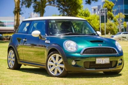 2009 Mini Hatch R56 Cooper S Steptronic Green 6 Speed Sports Automatic Hatchback Burswood Victoria Park Area Preview