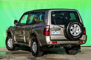 2004 Mitsubishi Pajero NP MY04 GLS Beige 5 Speed Manual Wagon Ringwood East Maroondah Area Preview