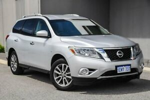 2014 Nissan Pathfinder R52 MY14 ST X-tronic 2WD Silver 1 Speed Constant Variable Wagon Osborne Park Stirling Area Preview