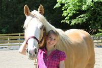 Leadership Horse Program for 8-10 year old girls