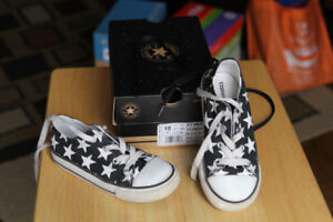 Converse All Stars Kids Shoes / Sneaker Black colour with White