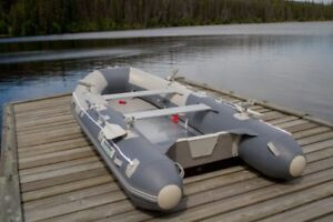 New! Aquamarine 10 ft INFLATABLE FISHING BOAT DELUX PACKAGE