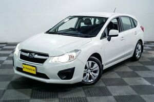 2012 Subaru Impreza G4 MY12 2.0i Lineartronic AWD White 6 Speed Constant Variable Hatchback