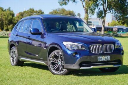 2010 BMW X1 E84 MY11 xDrive25i Steptronic Blue 6 Speed Sports Automatic Wagon