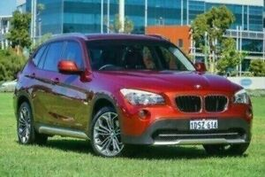 2011 BMW X1 E84 MY11 xDrive20d Steptronic Red 6 Speed Sports Automatic Wagon Victoria Park Victoria Park Area Preview