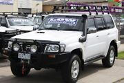 2009 Nissan Patrol GU 6 MY08 ST White 4 Speed Automatic Wagon Altona North Hobsons Bay Area Preview