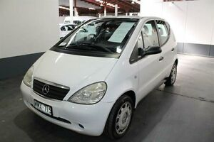 2000 Mercedes-Benz A140 W168 Classic White 5 Speed Sequential Manual Hatchback Pennington Charles Sturt Area Preview
