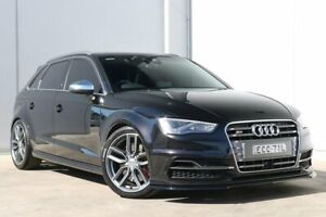 2014 Audi S3 8V MY14 S Tronic Quattro Black 6 Speed Sports Automatic Dual Clutch Sedan Liverpool Liverpool Area Preview