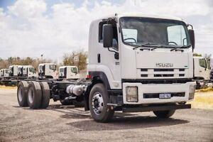2012 Isuzu FVY FH MY11 1400 Auto White Cab Chassis 7.8l 6x4 Welshpool Canning Area Preview