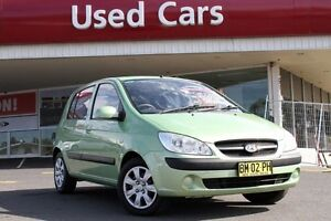 2009 Hyundai Getz TB MY09 S Green 5 Speed Manual Hatchback Liverpool Liverpool Area Preview