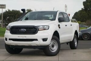 2019 Ford Ranger PX MkIII 2019.00MY XL Double Cab White 6 Speed Sports Automatic Cab Chassis Brighton Bayside Area Preview