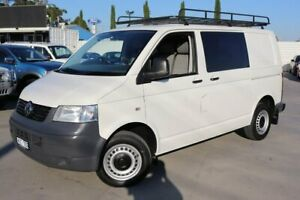 2008 Volkswagen Transporter T5 MY08 Low Roof White 6 Speed Sports Automatic Van Dandenong Greater Dandenong Preview